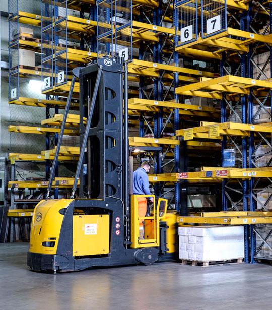 Logistica Zero - movimentazione e logistica magazzini