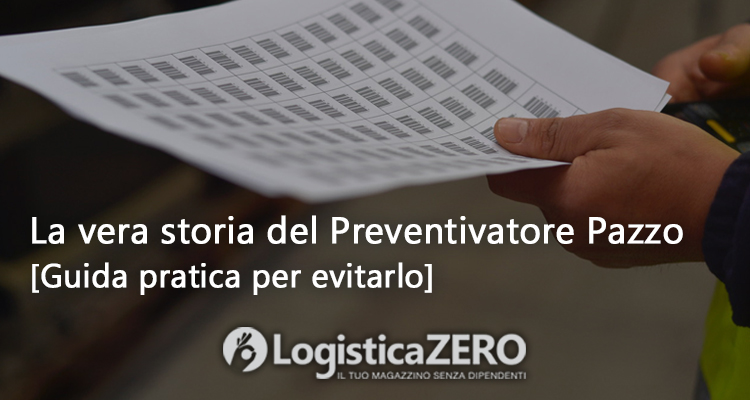 Preventivo logistica magazzino