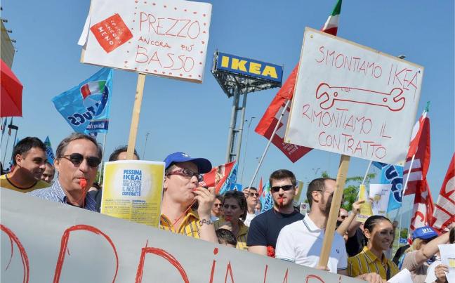 logistica sciopero IKEA